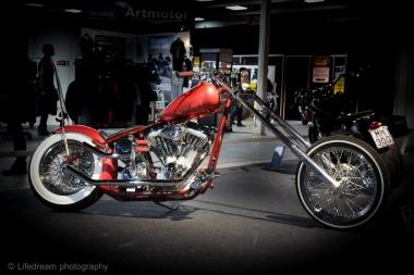 Moottoripyörämessut 2016 - custom made