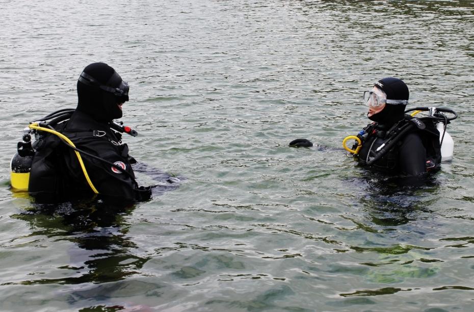 Nurmijärvi - sukelluskokeilu