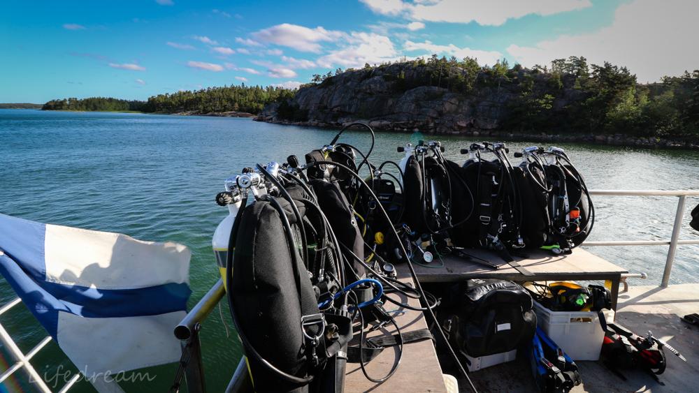 Sukellusleiri Saaristossa: lauantai1.7.2017