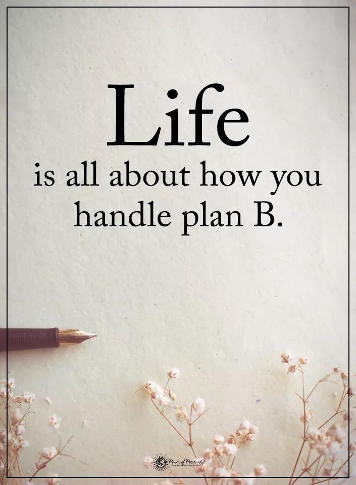 Plan B – kun elämä jakaaakanoita