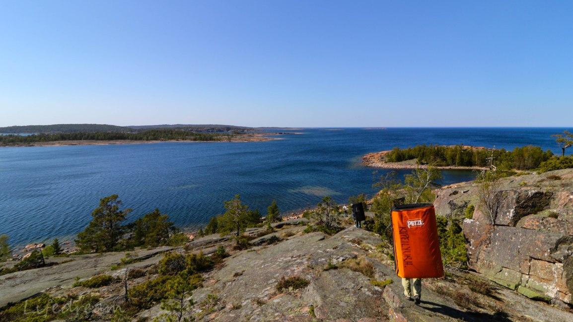 Ahvenanmaalla: merellistä tunnelmaaFågelbergetillä